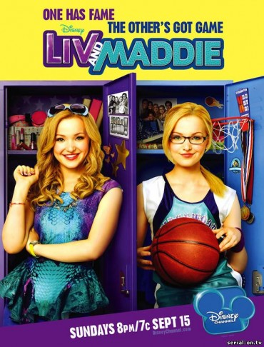Liv and Maddie (TV Show) Font