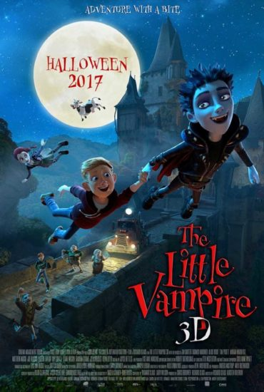The Little Vampire 3D Font