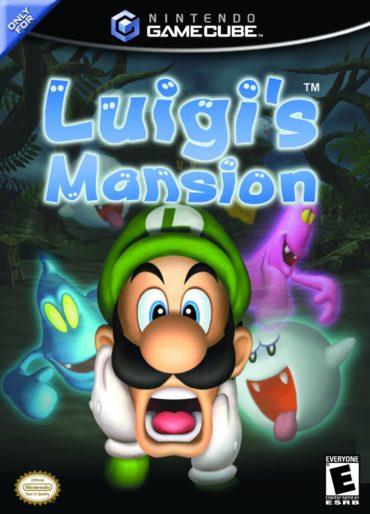 Luigi's-Mansion-Schriftart