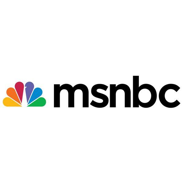 msnbc font and msnbc logo