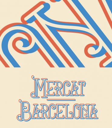 Mercat Barcelona – Free Art Deco Font