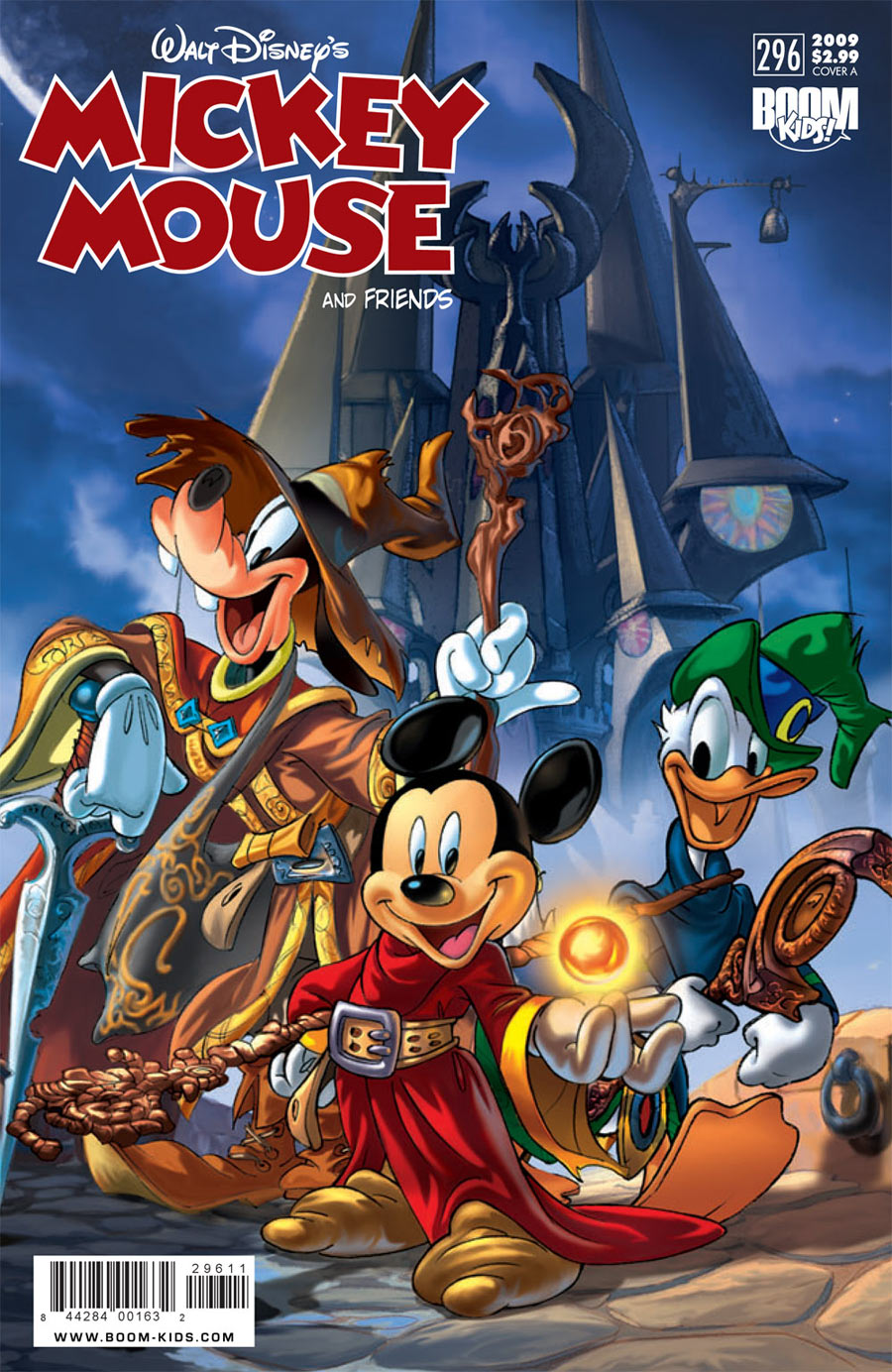Mickey-Mouse-and-Friends-comics cover