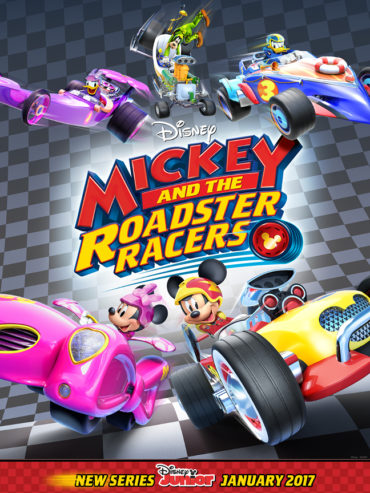 Mickey and the Roadster Racers Font