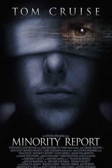 Minority Report Font