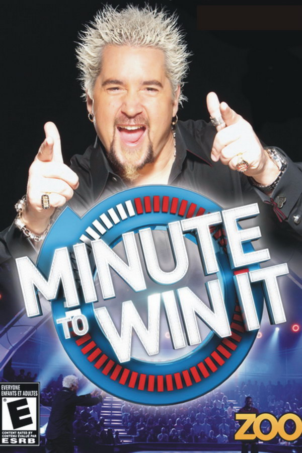Minute to Win It TV Series minute to win it font