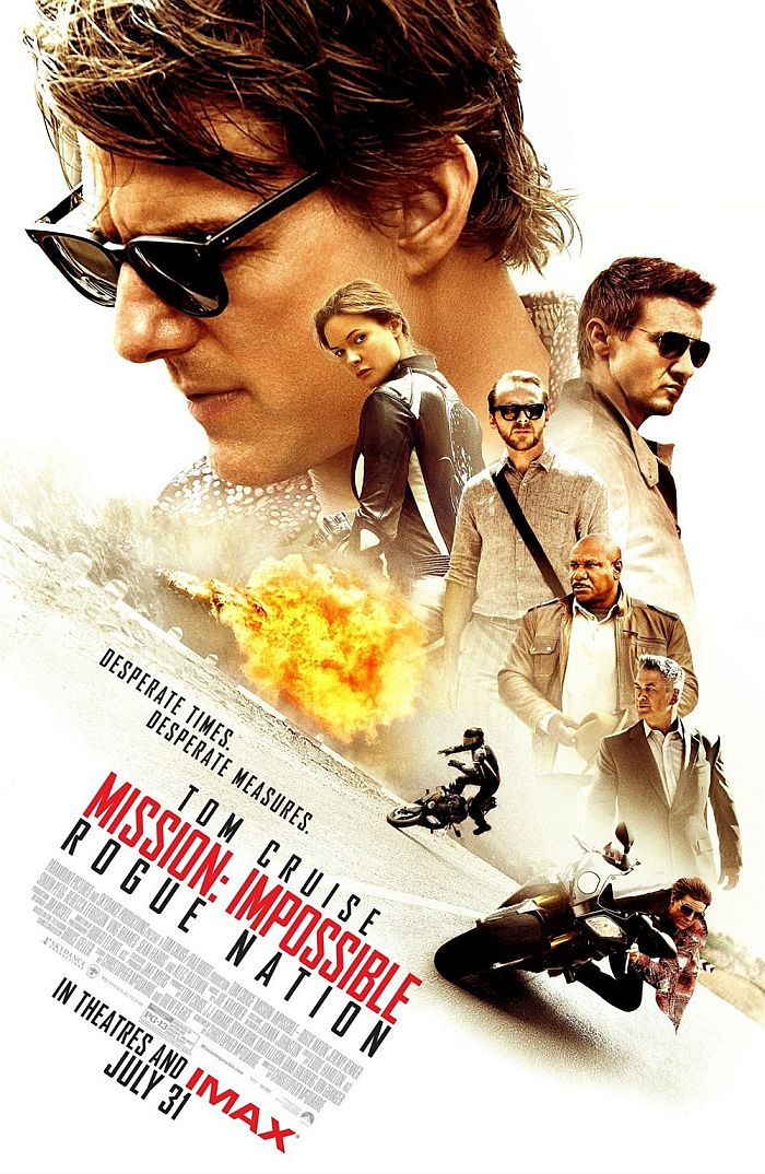 Mission Impossible – Rogue Nation poster