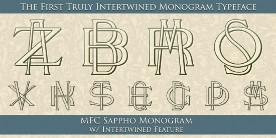 Monogram Fonts Monogram Font Generator