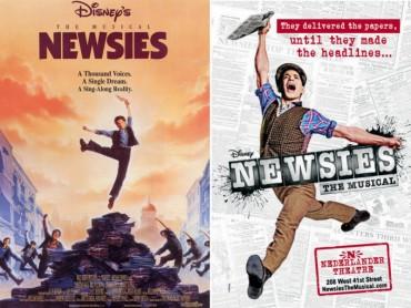 Newsies (musical) Font