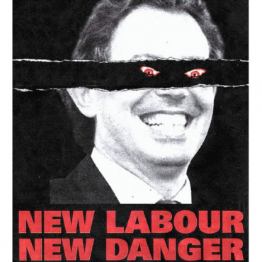 New Labour New Danger Font