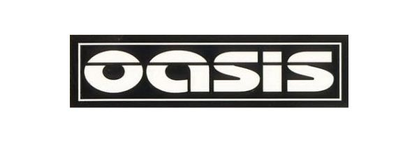 Oasis Font - Music Font Oasis Band Logo
