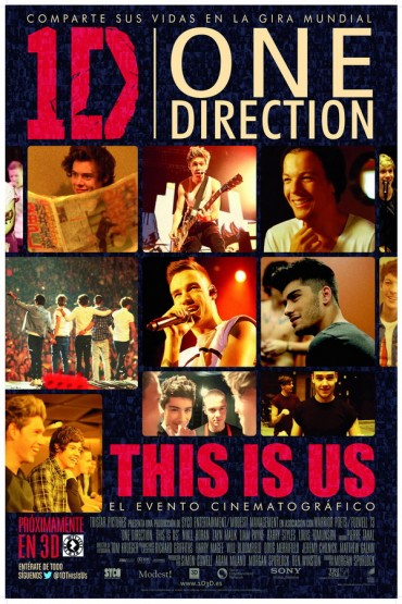 One Direction: This Is Us Font