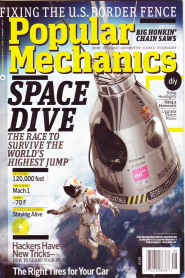 Popular Mechanics Font
