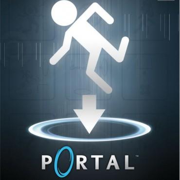 Portal-Schriftart
