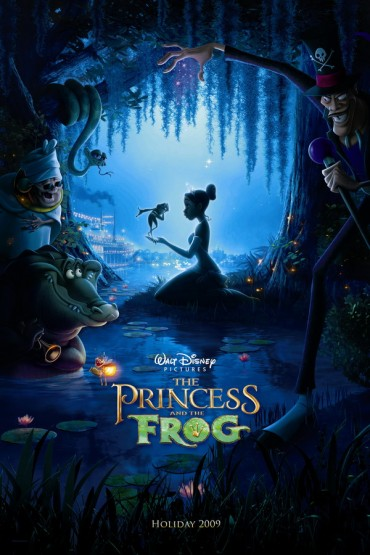 The Princess and the Frog Font