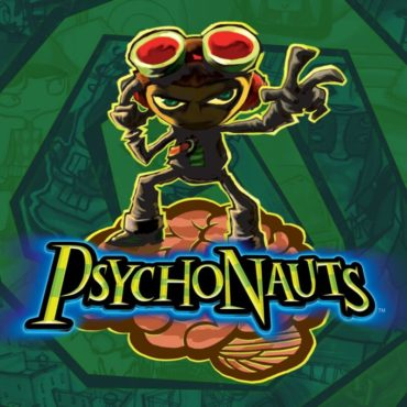Psychonauts (Video Game) Font