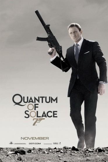 Quantum of Solace Font