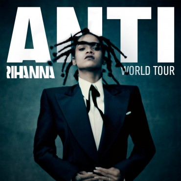 Anti World Tour (Rihanna) Font