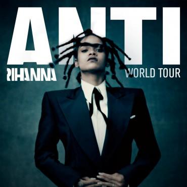Anti World Tour (Rihanna) Font