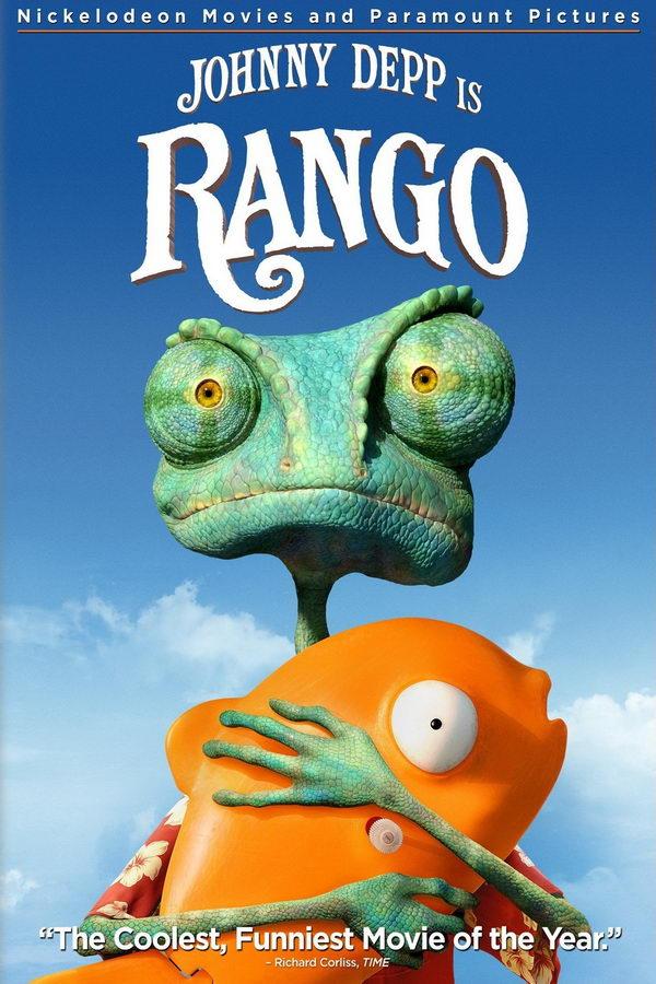 rango font and rango poster