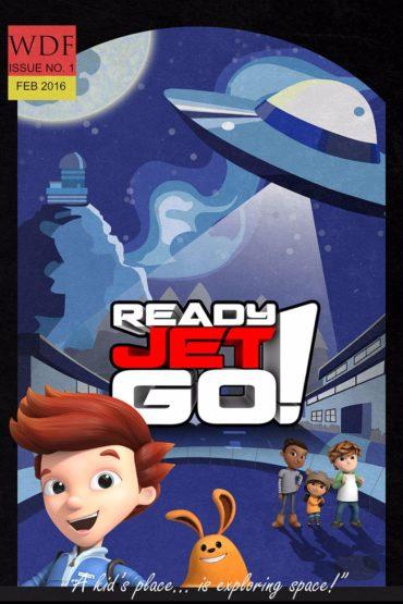 Ready Jet Go Font