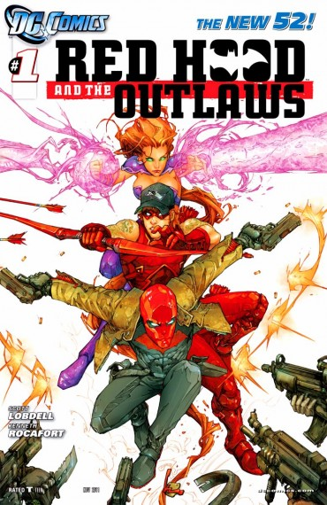 Red Hood and the Outlaws Font