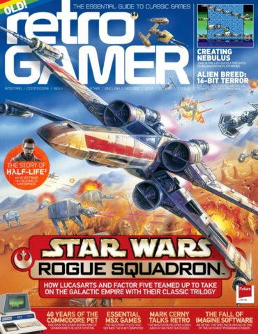 Retro Gamer (magazine) Font
