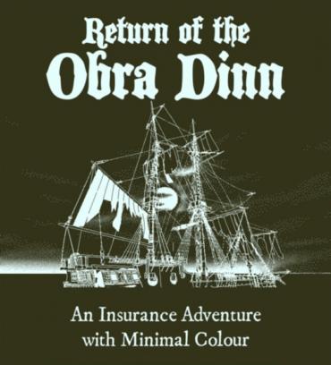 Return of the Obra Dinn Font