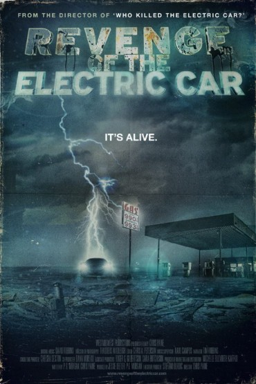 Revenge of the Electric Car Font