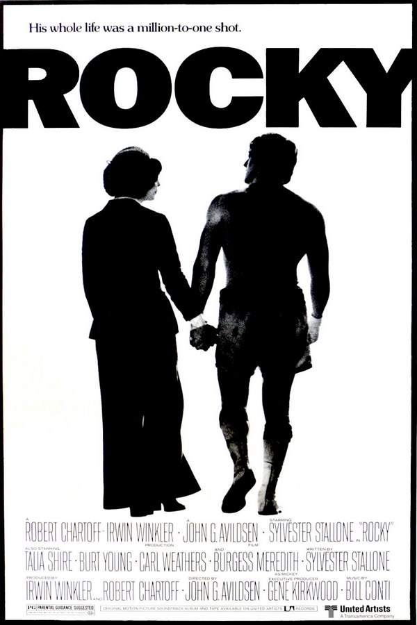 Rocky Font And Rocky Poster