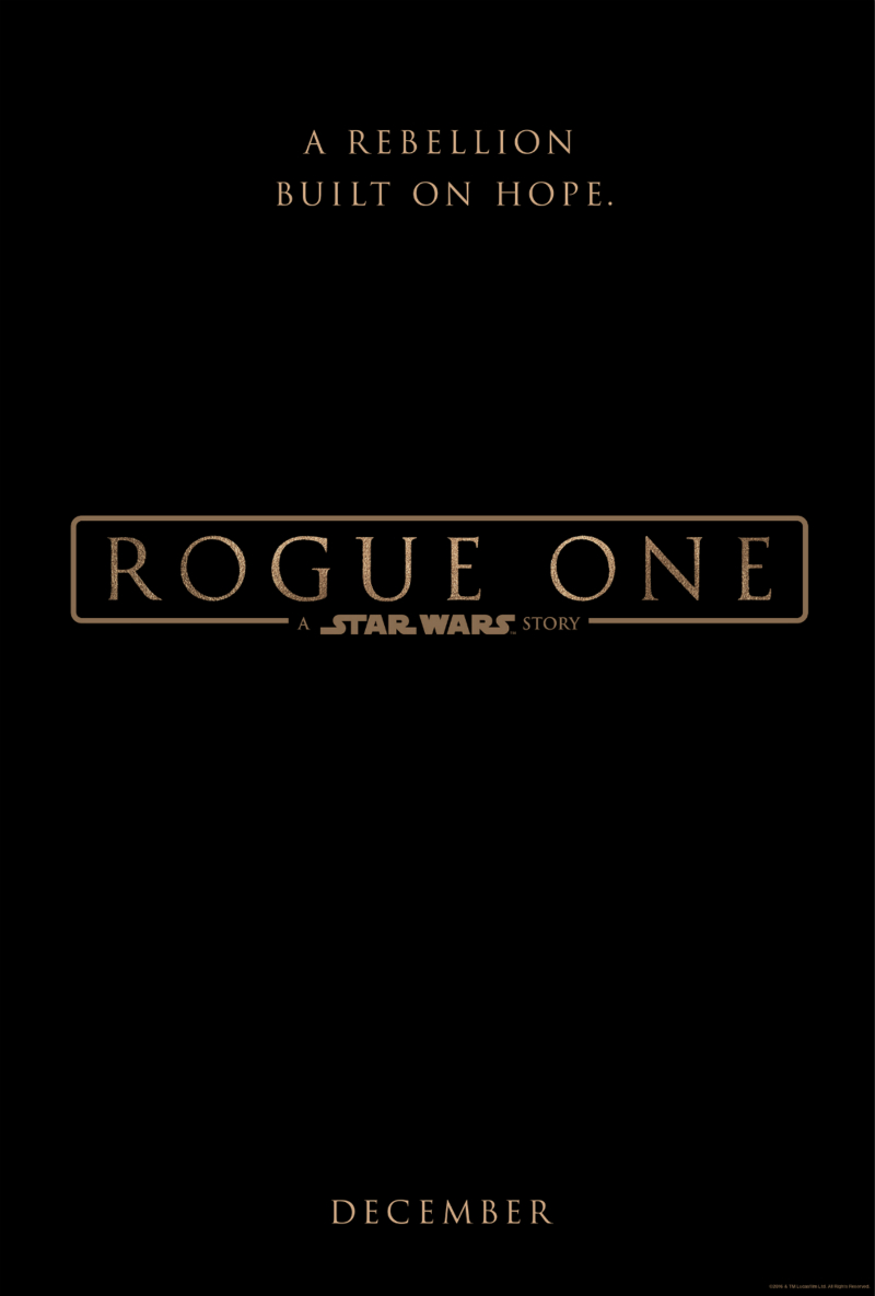 Rogue One Film Font