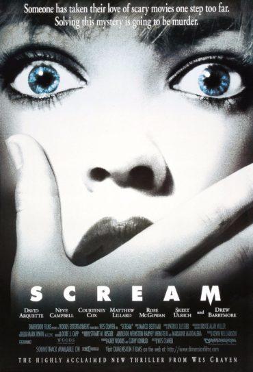 Scream (film) Font