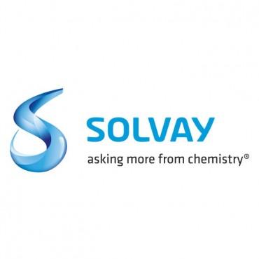Solvay Logo Font