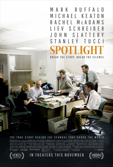 Spotlight (film) Font