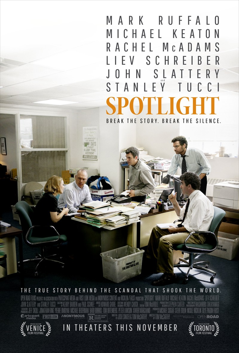SPOTLIGHT FILM FONT