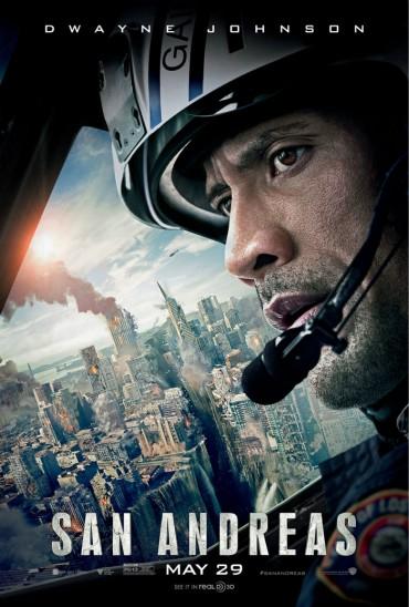 San Andreas (film) Font