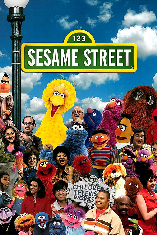 sesame street font and sesame street logo
