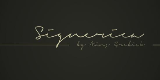 Signature fonts maker