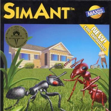 SimAnt Font
