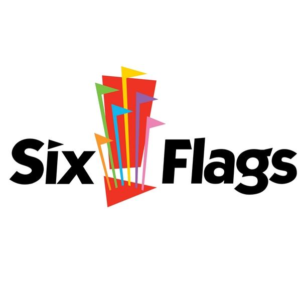 six flags font
