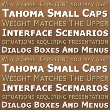 Small Caps Fonts