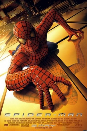Spiderman-Schriftart