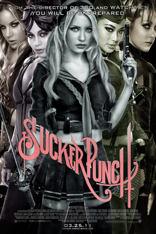 Celebrities, Movies and Games: Sucker Punch Character Posters