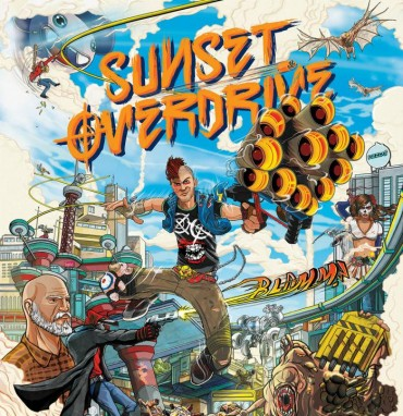 Sunset Overdrive Font