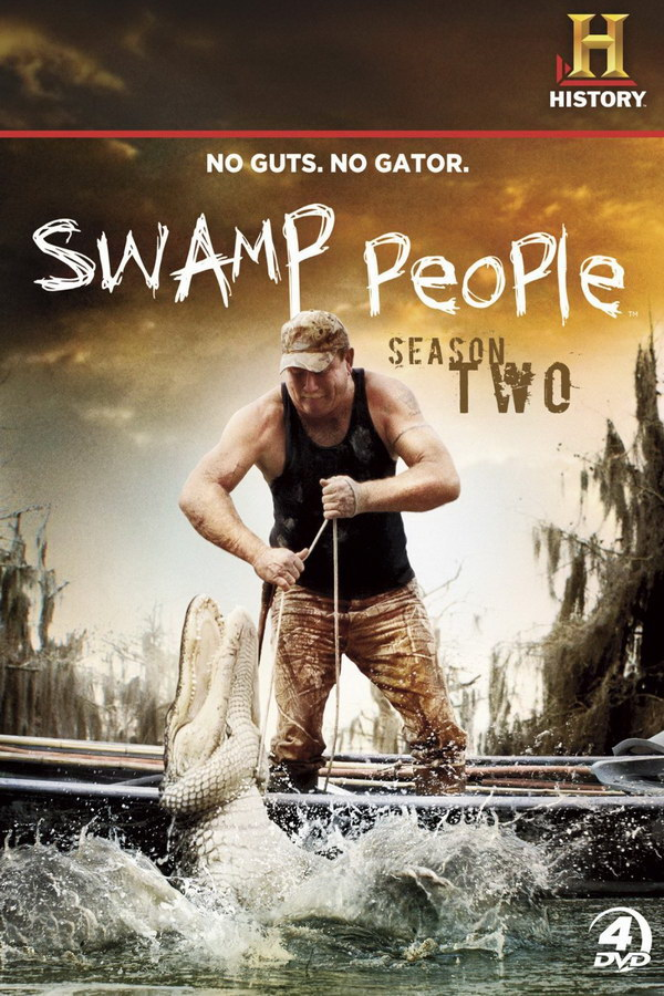 swamp people font here refers to the font used in the title of swamp