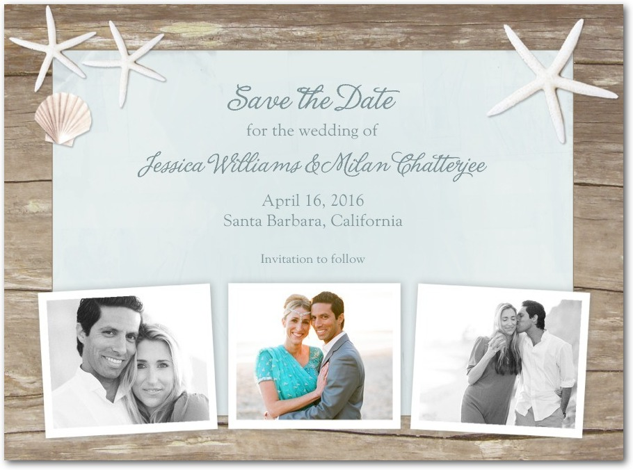 Sweet Starfish Save The Date