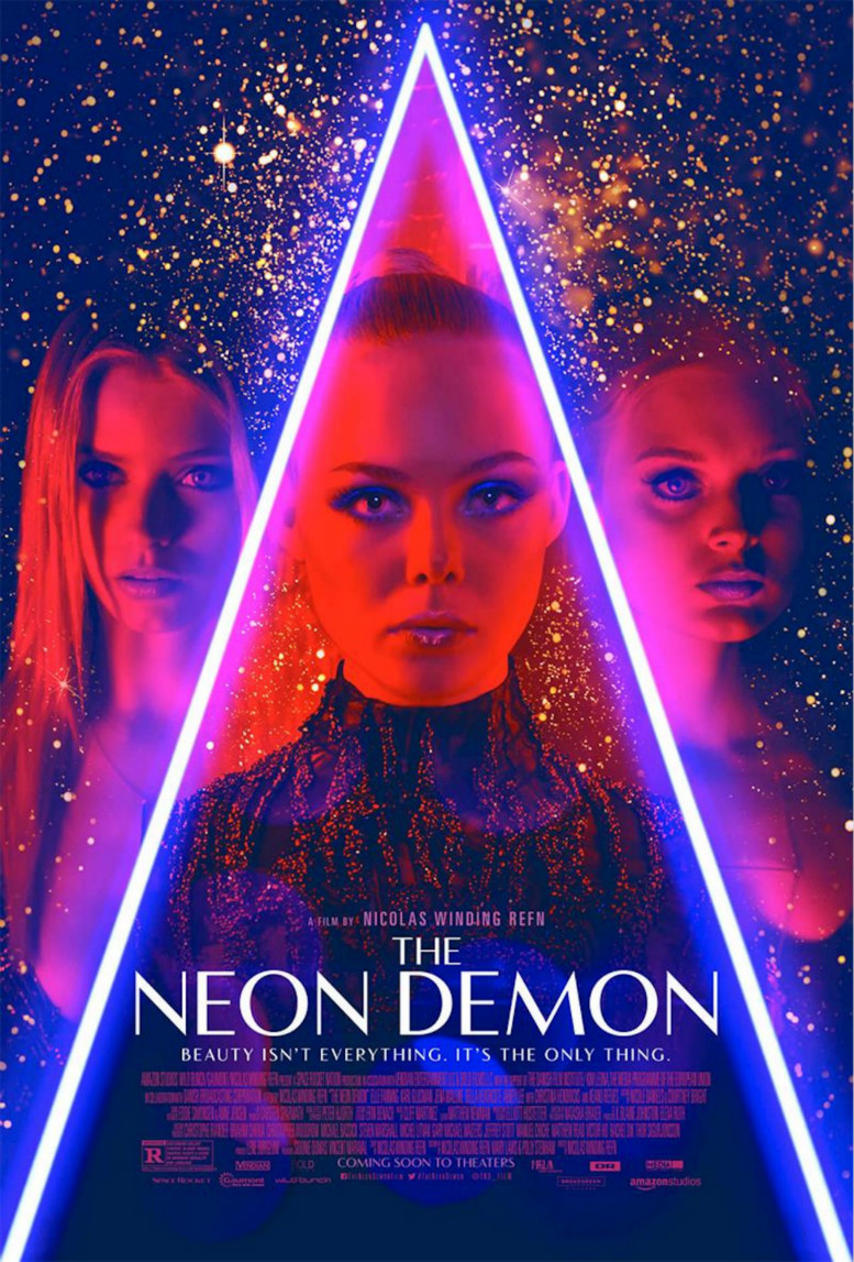 THE NEON DEMON FONT