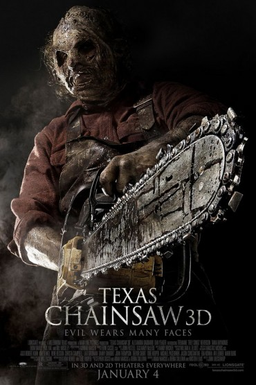 Texas Chainsaw 3D Font
