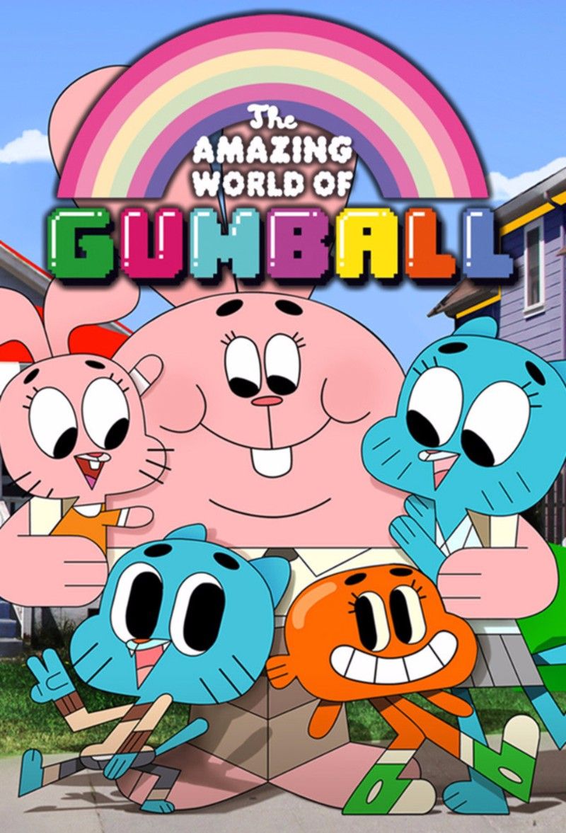 the amazing world of gumball font