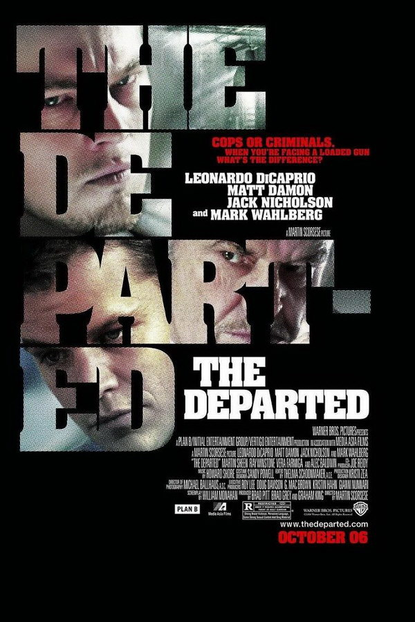 The Departed Font
