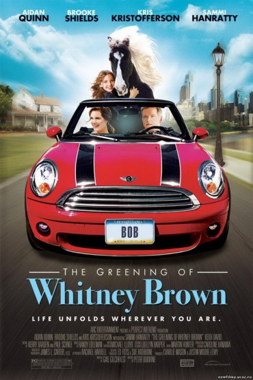 The Greening of Whitney Brown Font